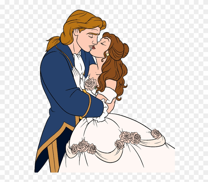 Belle and prince adam clipart image royalty free Belle And The Beast Clip Art 2 Disney Clip Art Galore - Belle ... image royalty free
