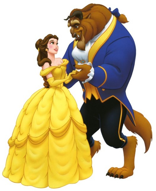 Belle and prince adam clipart banner royalty free download disney princesses / Princess Belle and the Beast Clipart Image ... banner royalty free download