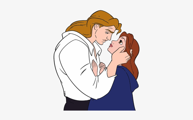 Belle and prince adam clipart black and white download Beast Clipart Prince - Belle And Prince Clipart - Free Transparent ... black and white download