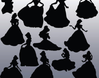 Belle clipart silhouette png royalty free Belle clipart silhouette - ClipartFest png royalty free