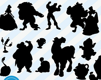 Belle clipart silhouette image royalty free Belle clipart silhouette - ClipartFest image royalty free