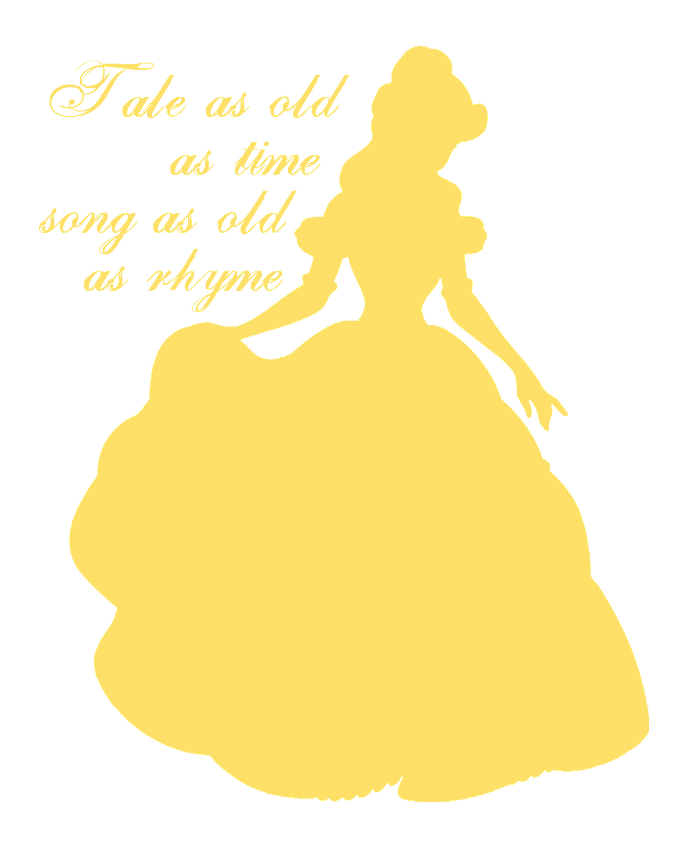 Belle clipart silhouette banner royalty free stock Belle clipart silhouette - ClipartFest banner royalty free stock