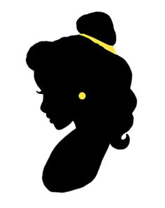 Belle clipart silhouette clip art royalty free stock Belle silhouette … | Pinteres… clip art royalty free stock
