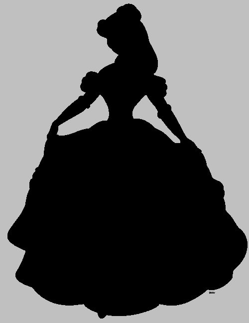 Belle clipart silhouette clip stock Gallery For > Belle Silhouette Clipart clip stock