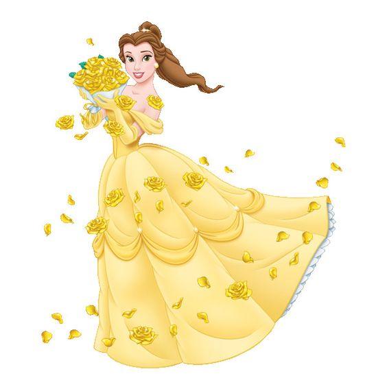 Belle disney clipart graphic transparent stock Disney's Beauty Beast Princess Belle Clipart 2 --> Disney-Clipart ... graphic transparent stock