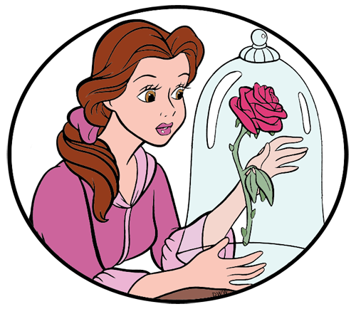 Belle disney clipart banner library download Disney Belle Clip Art Images 4 | Disney Clip Art Galore banner library download
