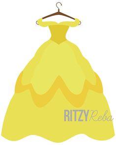 Belle dress clipart banner transparent download Belle putting on dress clipart - ClipartFest banner transparent download