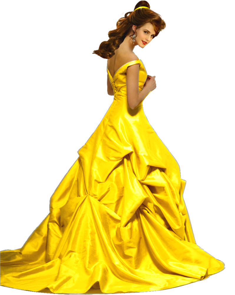 Belle full body clipart vector library stock Emma Watson as Belle PNG by nickelbackloverxoxox on DeviantArt vector library stock