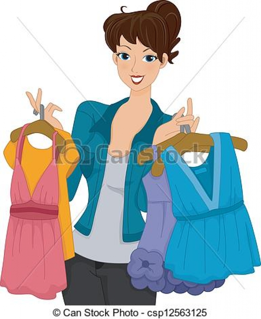 Belle putting on dress clipart download Putting on clothes clipart - ClipartFest download