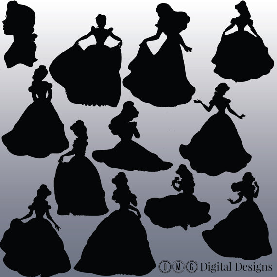 Belle silhouette clipart graphic freeuse download Belle silhouette clipart - ClipartFest graphic freeuse download