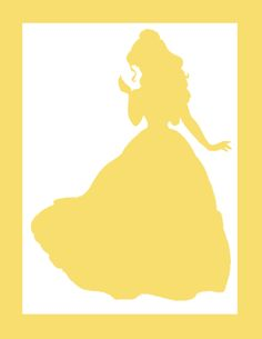 Belle silhouette clipart image transparent download Beauty & the Beast Silhouette, Princess Belle Silhouette, Disney ... image transparent download