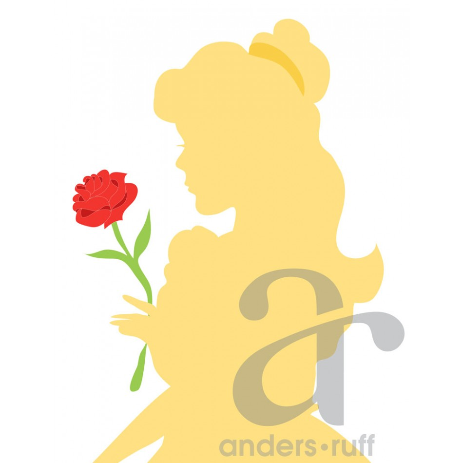 Belle silhouette clipart vector stock 1000+ images about Beauty & the Beast on Pinterest | Disney ... vector stock