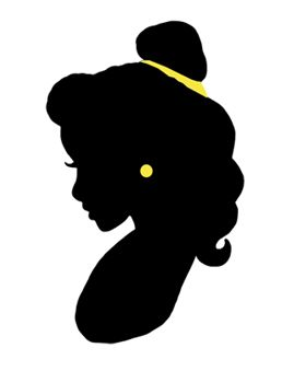 Belle silhouette clipart clip library library 17 Best ideas about Disney Princess Silhouette on Pinterest ... clip library library