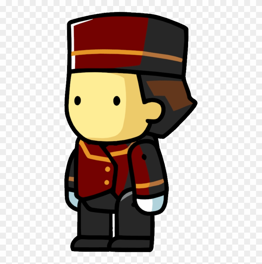Bellhop clipart svg royalty free stock Bellhop - Scribblenauts Unlimited People Clipart (#3317567) - PinClipart svg royalty free stock
