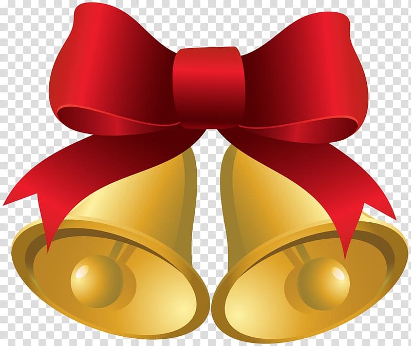 Bells wilth ribbons clipart clip freeuse library Bell with bow-tie illustration, Christmas Jingle bell , Christmas ... clip freeuse library