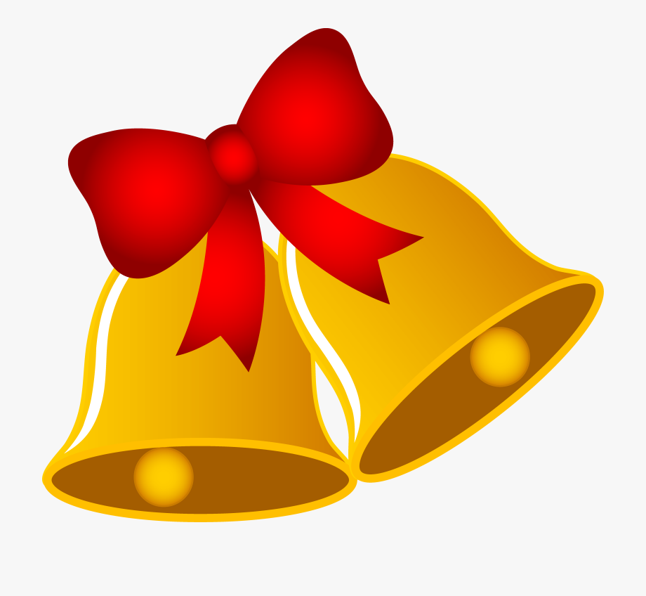 Christmas clipart bell png free library Xmas Clipart Bow - Christmas Bells Images Clip Art #347055 - Free ... png free library