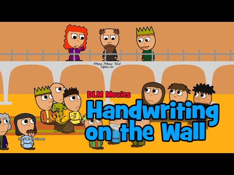 Belshazzar see handwriting on wall clipart free banner royalty free download Handwriting on the Wall (Cartoon) - YouTube banner royalty free download