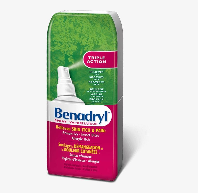 Benadryl clipart clipart transparent library Benadryl® Itch Spray - Benadryl Bug Bite - Free Transparent PNG ... clipart transparent library