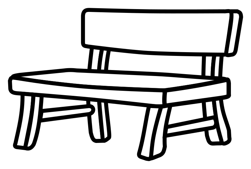 Bench clipart black and white vector download Free Bench Cliparts, Download Free Clip Art, Free Clip Art on ... vector download