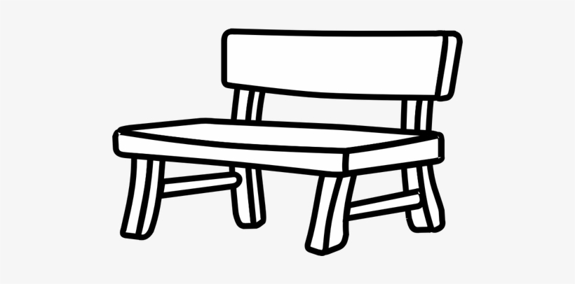 Bench clipart black and white vector library library Park Bence Clipart Bus Stop Bench - Bench Clipart Black And White ... vector library library