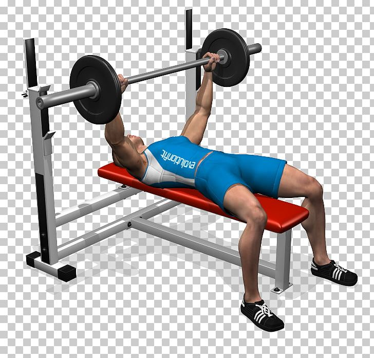 Bench press exercise clipart vector library download Bench Press Barbell Exercise Fly PNG, Clipart, Arm, Balance, Barbell ... vector library download