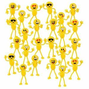 Bendable smiley face fidget clipart png free download Details about Emoticon Figure Bendable Toys - 24 Pack 4.5\