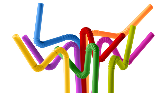 Bendable straw clipart banner royalty free Packaging and Straws banner royalty free