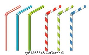 Bendable straw clipart clip art royalty free download Bendy Clip Art - Royalty Free - GoGraph clip art royalty free download