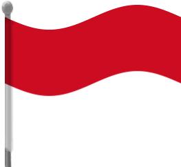 Bendera indonesia clipart clip black and white library Indonesia flag country clipart - ClipartFest clip black and white library