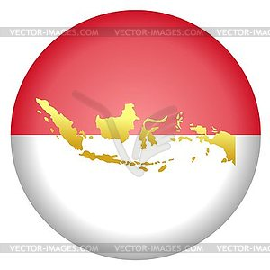 Bendera indonesia clipart banner black and white Indonesia map clipart - ClipartFest banner black and white