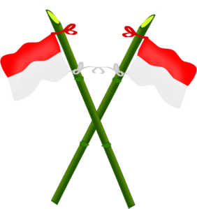 Bendera indonesia clipart black and white stock Indonesia clipart - ClipartFest black and white stock