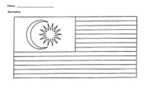 Bendera malaysia clipart clipart library Clipart Bendera Malaysia | Free Images at Clker.com - vector clip ... clipart library