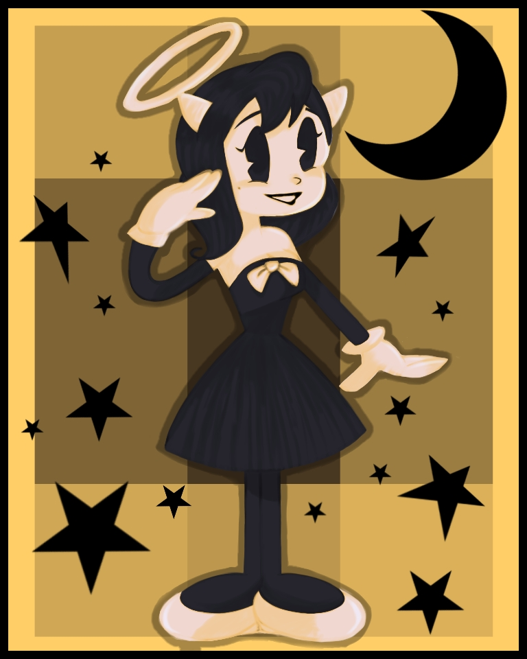 Bendy and the ink machine alice clipart transparent download Alice Angel (Bendy and the Ink Machine) Image #2148444 - Zerochan ... transparent download