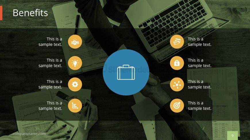 Benefits powerpoint clipart clip art freeuse stock PPT Benefits for Business Plan - SlideModel clip art freeuse stock