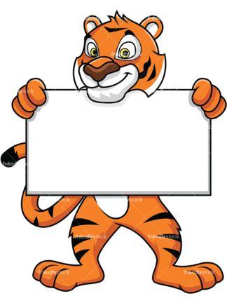 Bengal mascot clipart vector transparent download Tiger Mascot Collection - Tigris   Clip Arts in 2019   Tiger drawing ... vector transparent download