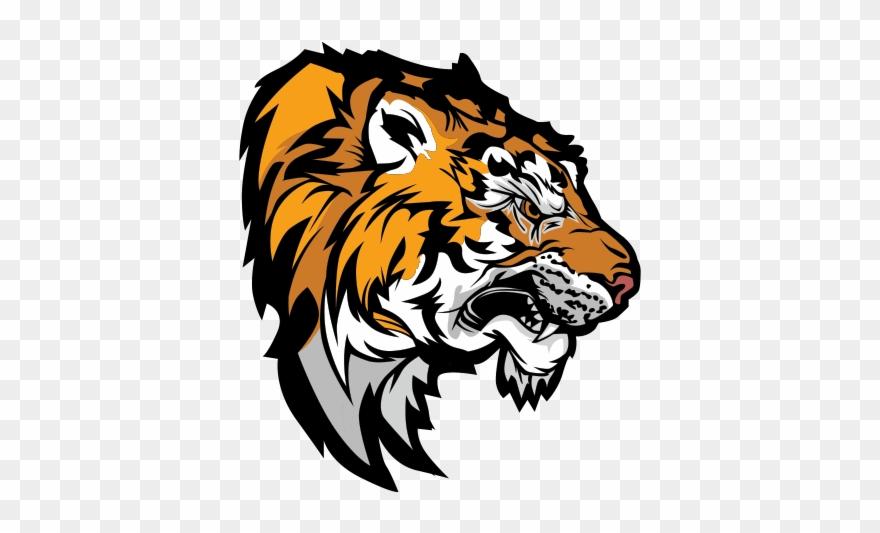 Bengal mascot clipart vector black and white Cat Bengal Tiger Clip Art Transprent Png - Tiger Mascot Transparent ... vector black and white