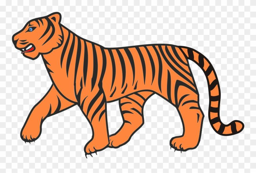 Bengal tiger clipart clip art transparent download Bengal Tiger Clipart 13, Buy Clip Art - Clip Art - Png Download ... clip art transparent download