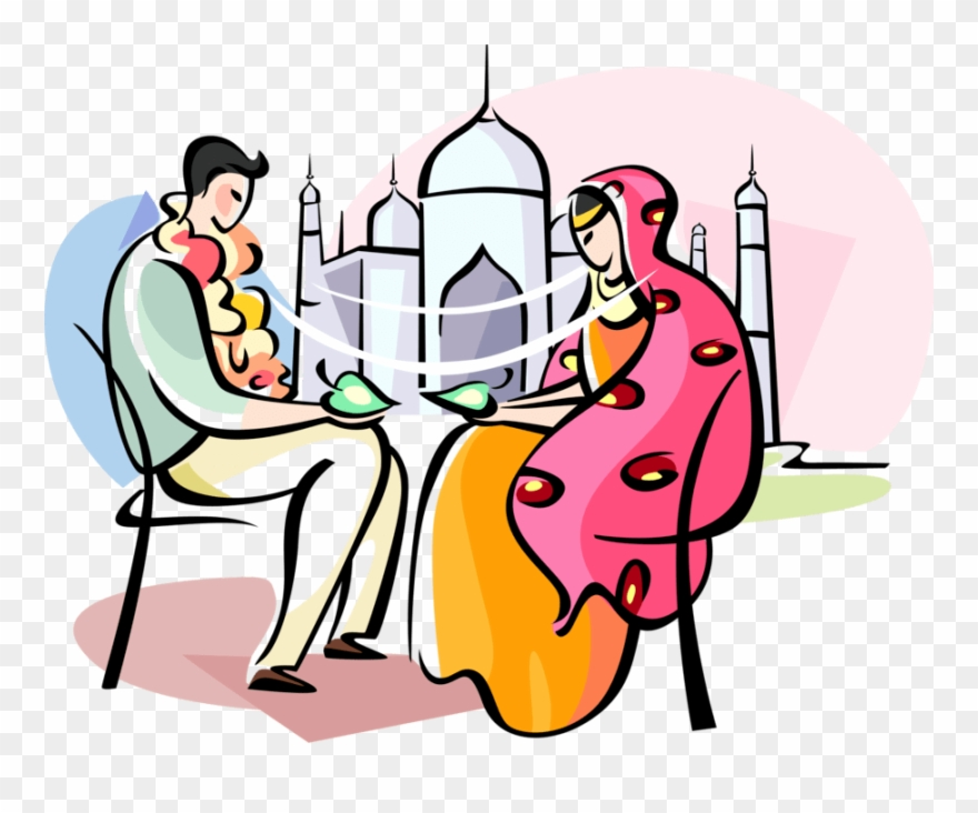 Bengali clipart graphic black and white library Bengali Marriage Clipart Png Transparent Png (#4597697) - PinClipart graphic black and white library