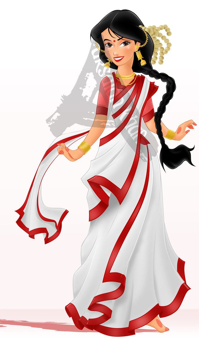 Bengali woman in sari clipart svg royalty free Free Saree Clipart woman freedom, Download Free Clip Art on Owips.com svg royalty free