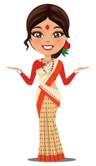 Bengali woman in sari clipart jpg download Saree Vectors, Photos and PSD files | Free Download jpg download