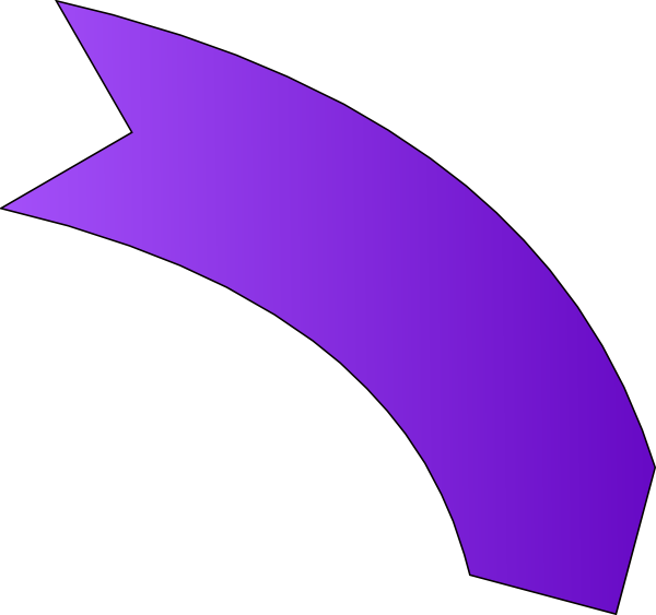 Bent arrow clip art clip art freeuse library Purple Arrow Clip Art at Clker.com - vector clip art online, royalty ... clip art freeuse library