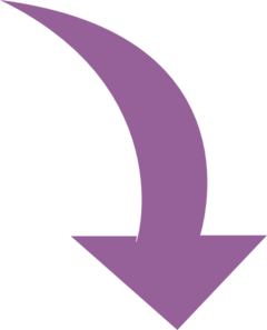 Curved purple at clker. Bent arrow clip art