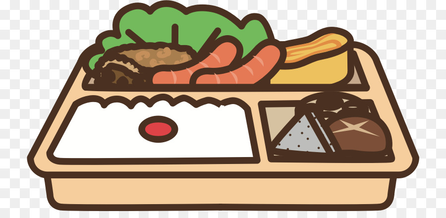 Bento box clipart vector freeuse Food Cartoon vector freeuse