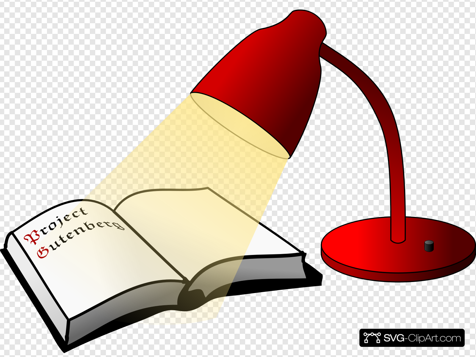 Bera clipart jpg transparent library Book And Lamp Clip art, Icon and SVG - SVG Clipart jpg transparent library
