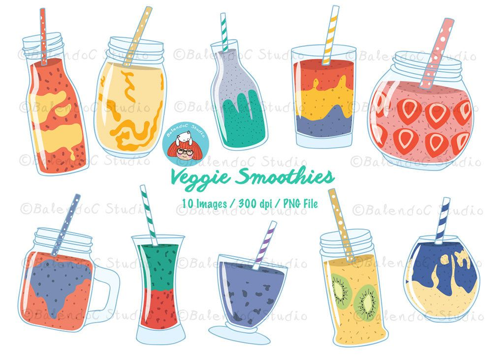 Smoothie clipart vector image download Drink Clipart, Smoothie Clipart, Beverage Clipart, Color Clipart ... image download