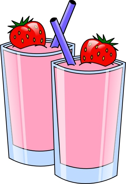 Smoothie clipart vector clipart library Strawberry Smoothie Drink Beverage Cups clip art Free vector in Open ... clipart library