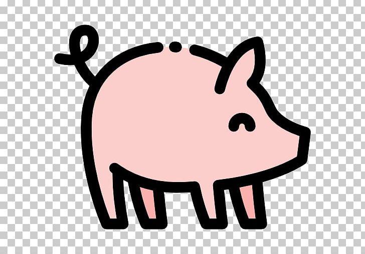 Berkshire pig clipart