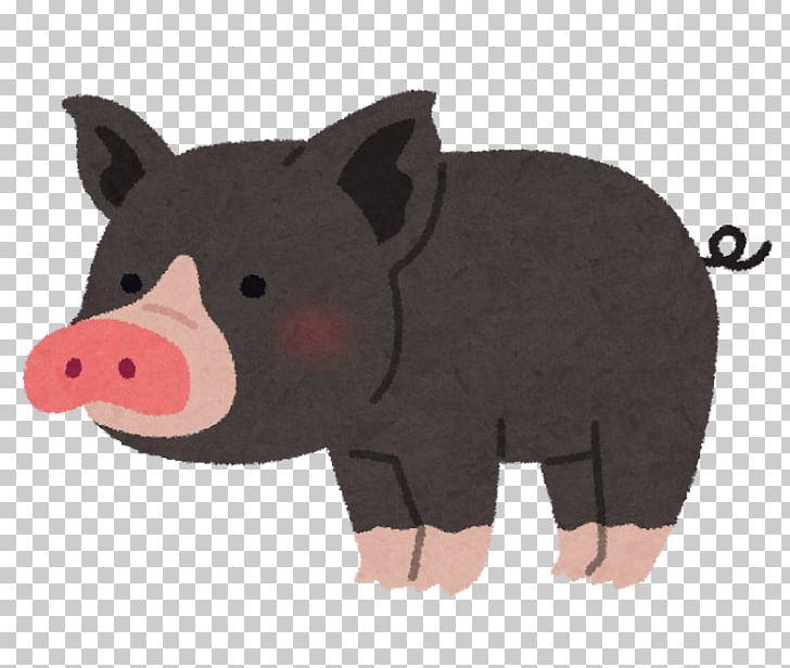 Berkshire pig clipart vector free stock Tokyo-X Berkshire Pig かごしま黒豚 Pork Menchi-katsu PNG, Clipart ... vector free stock