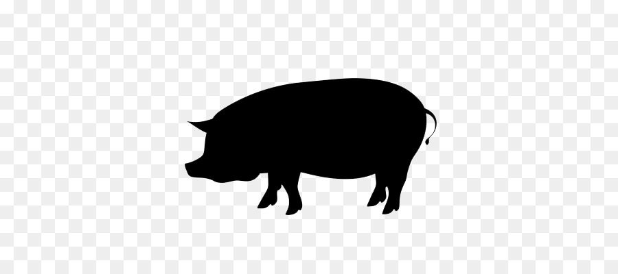 Berkshire pig clipart clip art free stock Pig Cartoon clipart - Pig, Black, Silhouette, transparent clip art clip art free stock