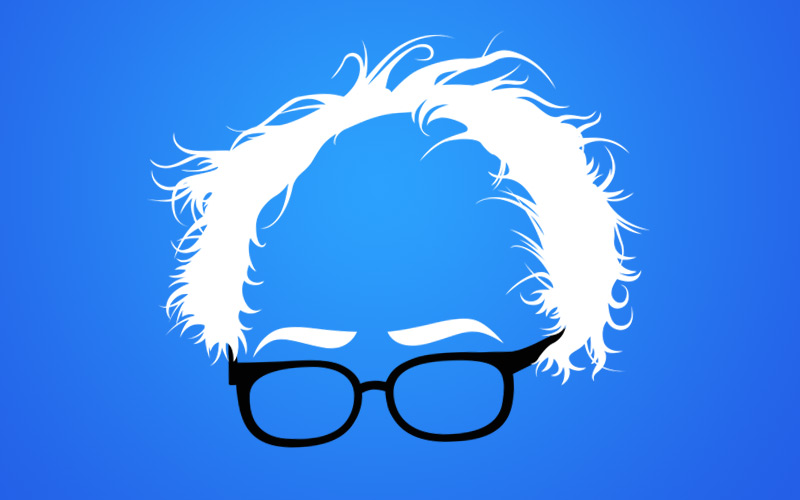 Bernie clipart svg freeuse Bernie Sanders Hair Graphic by Dirt2.com svg freeuse